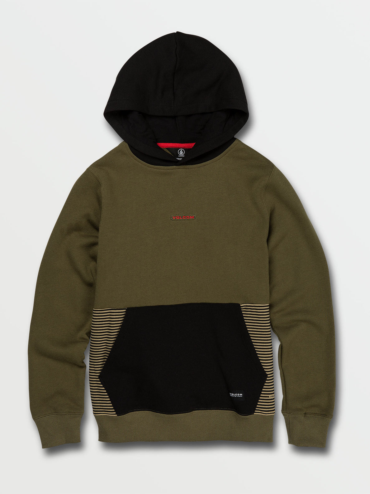 Big Boys Forzee Pullover Fleece - Military (C4132001_MIL) [F]