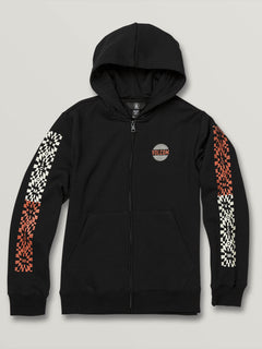 Big Boys Supply Stone Zip Hoodie - Black (C4831904_BLK) [F]