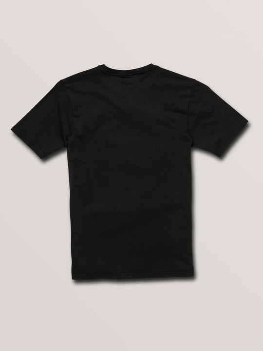 Big Boys Stone Sounds Short Sleeve Tee In Black, Back View