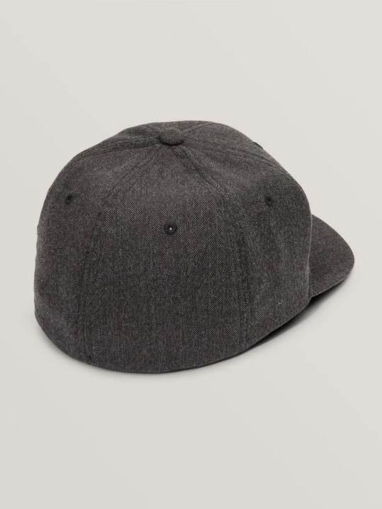 Full Stone Heather Xfit Hat In Charcoal Heather, Alternate View