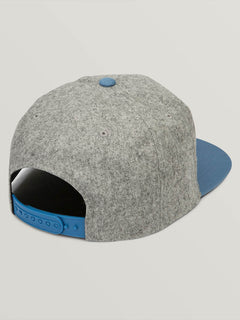 Quarter Fabric Hat - Brushed Black