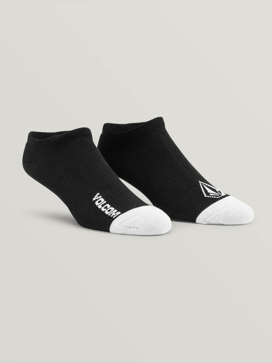 Stone Ankle Sock 3 Pack - Black (D6321802_BLK) [F]