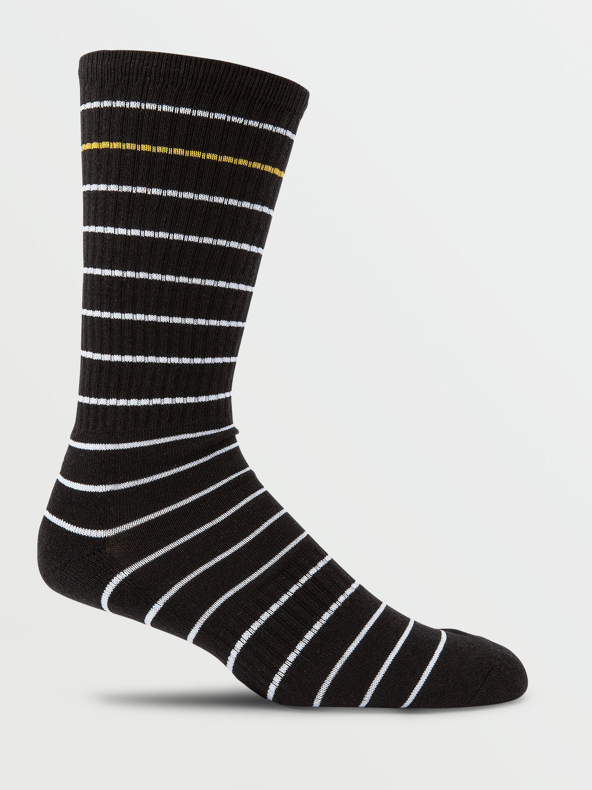 Brat Stripe Sock - Black