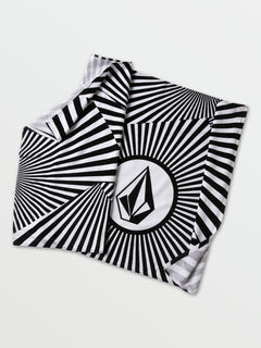 Stone Psych Towel - Black White
