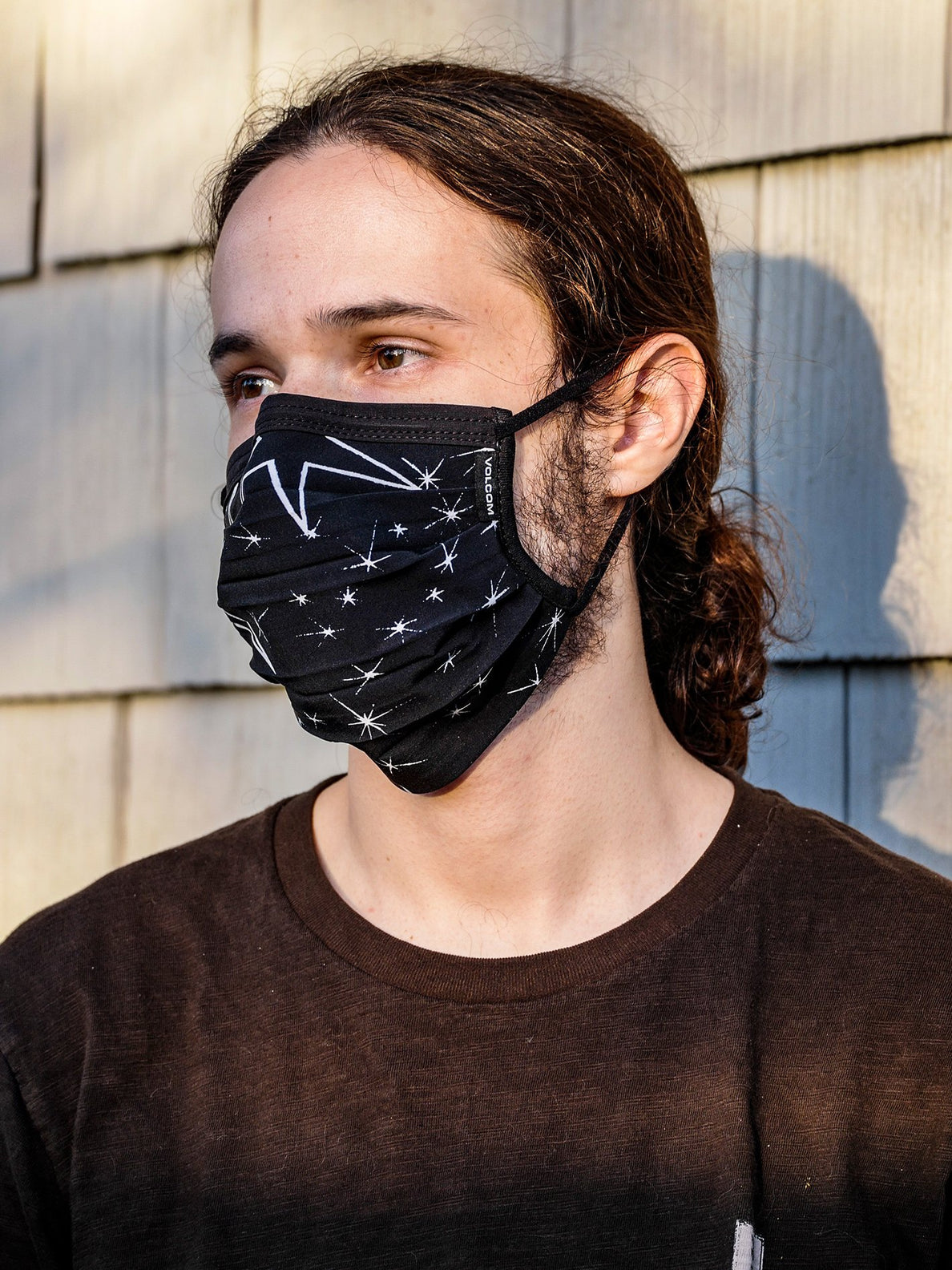 VOLCOM ASSORTED FACE MASK - BLACK