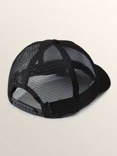 Tagurit Hat In Black, Back View
