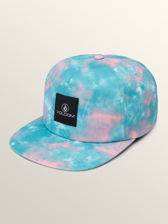 Tie Dye For Snapback Hat In Multi, Front View