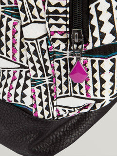 Schoolyard Canvas Backpack - Fiesta Pink