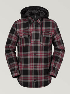 FIELD INS. FLANNEL (G0252000_RED) [F]