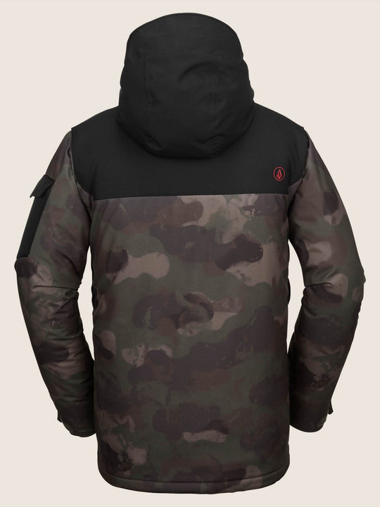 Vco Inferno Insulated Jacket In Camouflage, Back View