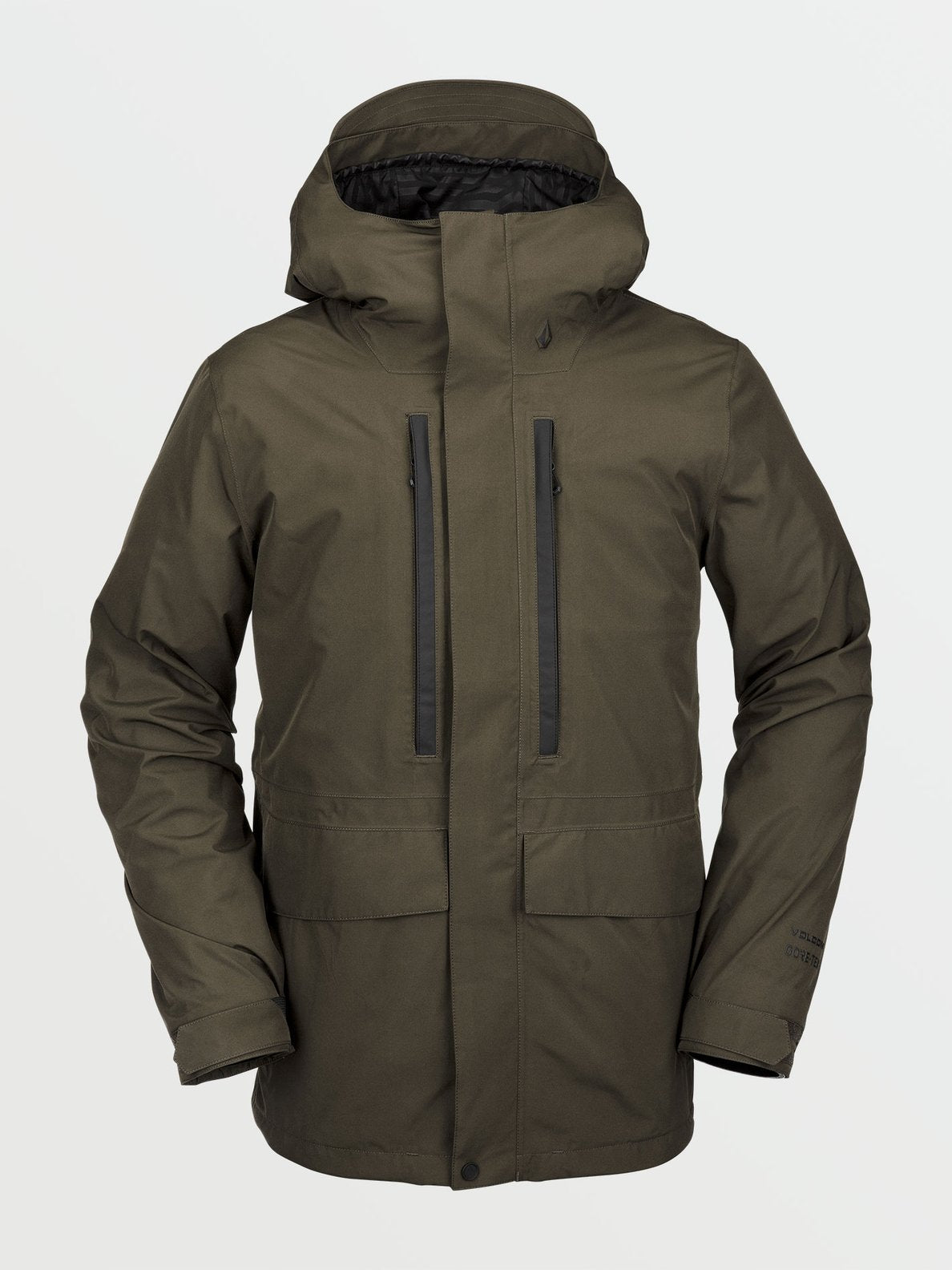 Mens Ten Insulated Gore-Tex Jacket - Black Military