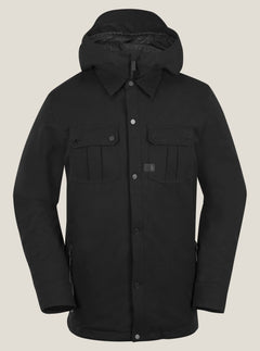 Creedle2stone Jacket In Black, Front View