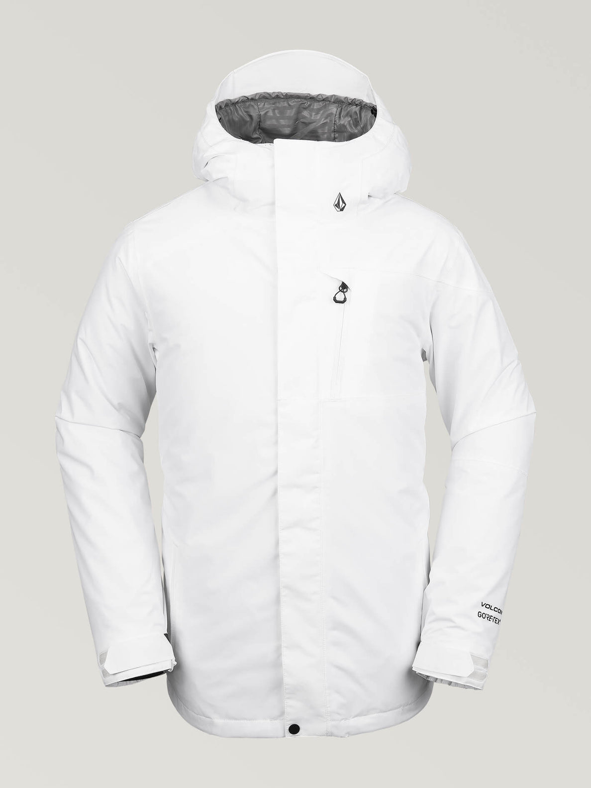 Mens L Gore-Tex Jacket - White (G0651904_WHT) [F]