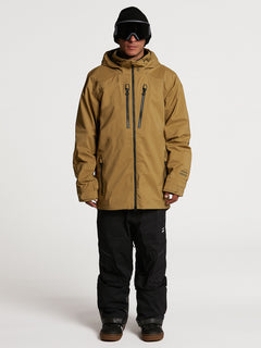 GUCH STRETCH GORE JKT - BURNT KHAKI (G0652100_BUK) [01]