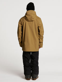 GUCH STRETCH GORE JKT - BURNT KHAKI (G0652100_BUK) [02]