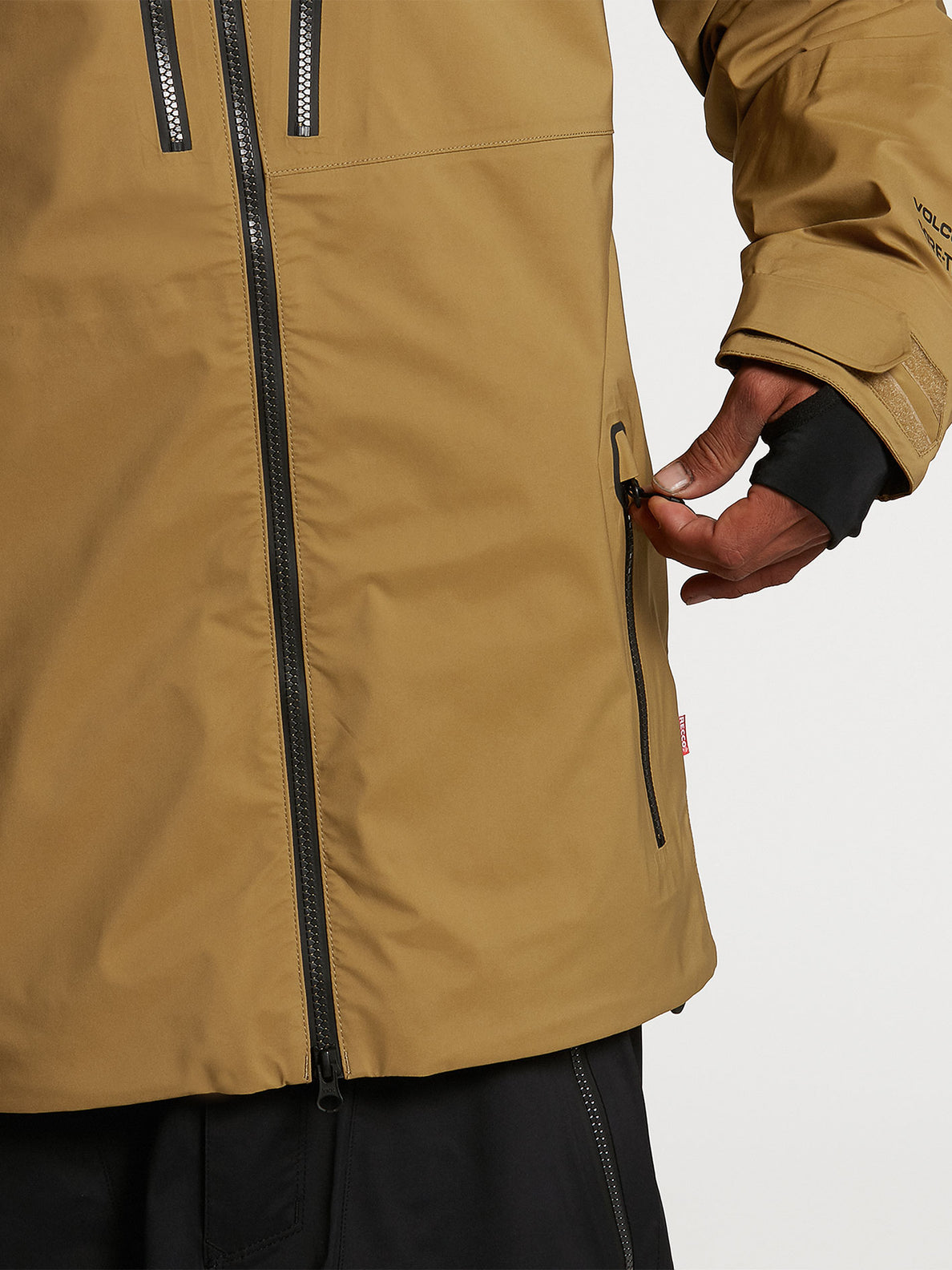 GUCH STRETCH GORE JKT - BURNT KHAKI (G0652100_BUK) [04]