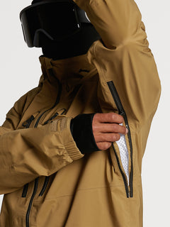 GUCH STRETCH GORE JKT - BURNT KHAKI (G0652100_BUK) [09]