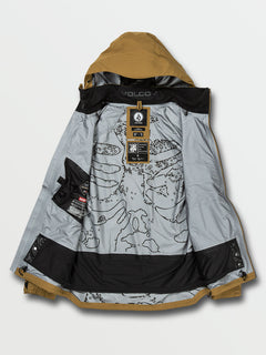 GUCH STRETCH GORE JKT - BURNT KHAKI (G0652100_BUK) [10]