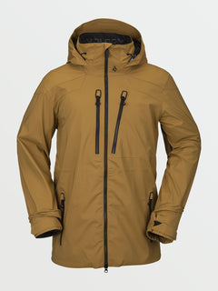GUCH STRETCH GORE JKT - BURNT KHAKI (G0652100_BUK) [F]