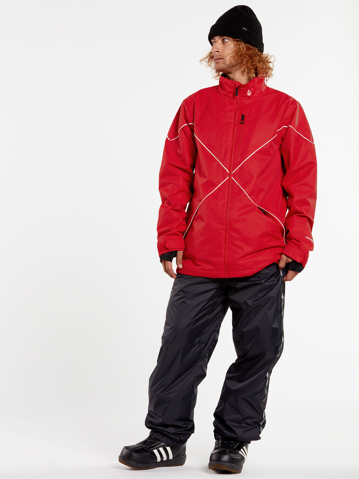 NO HOOD X JACKET - RED (G0652114_RED) [01]