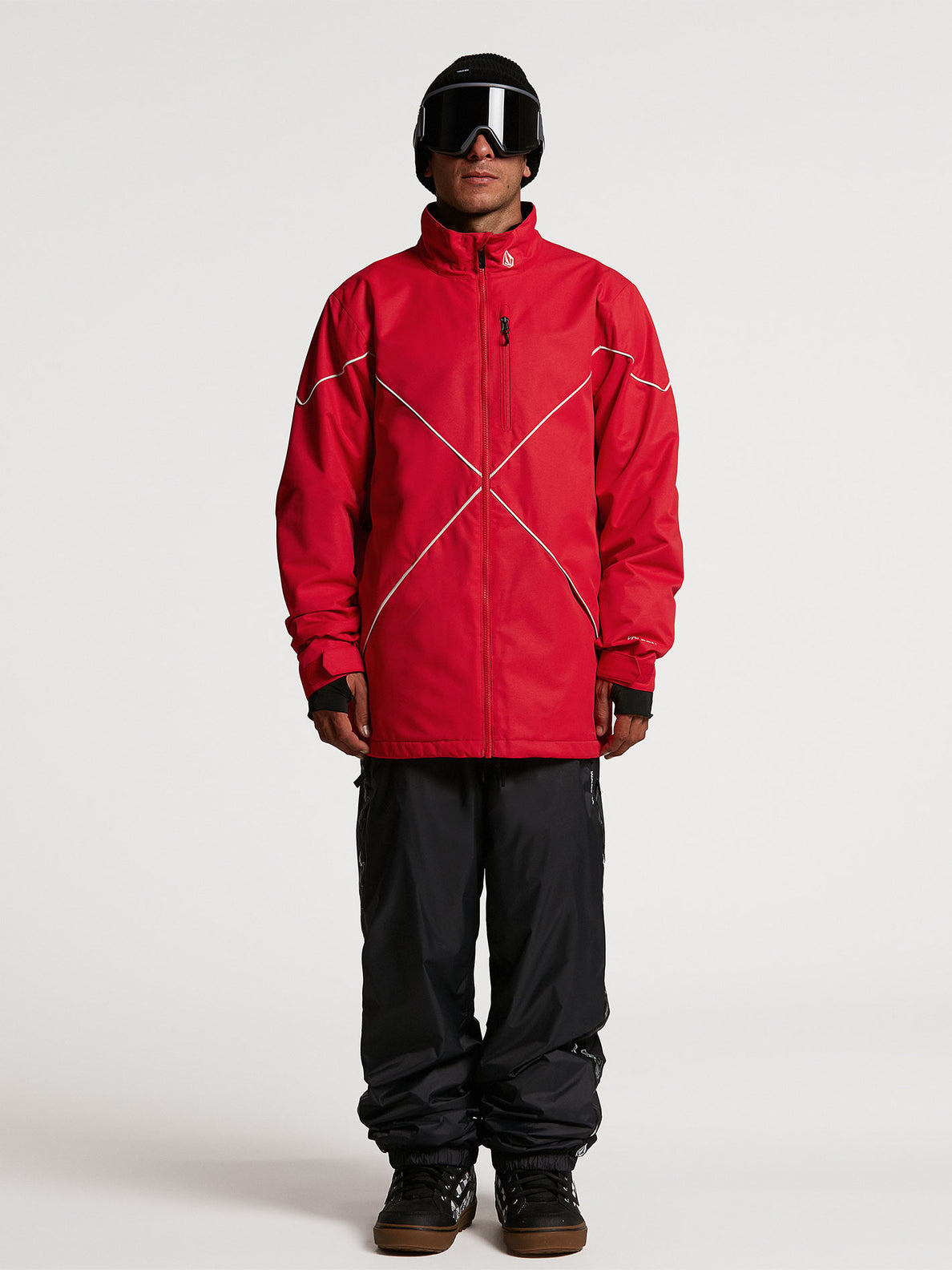 NO HOOD X JACKET - RED (G0652114_RED) [02]