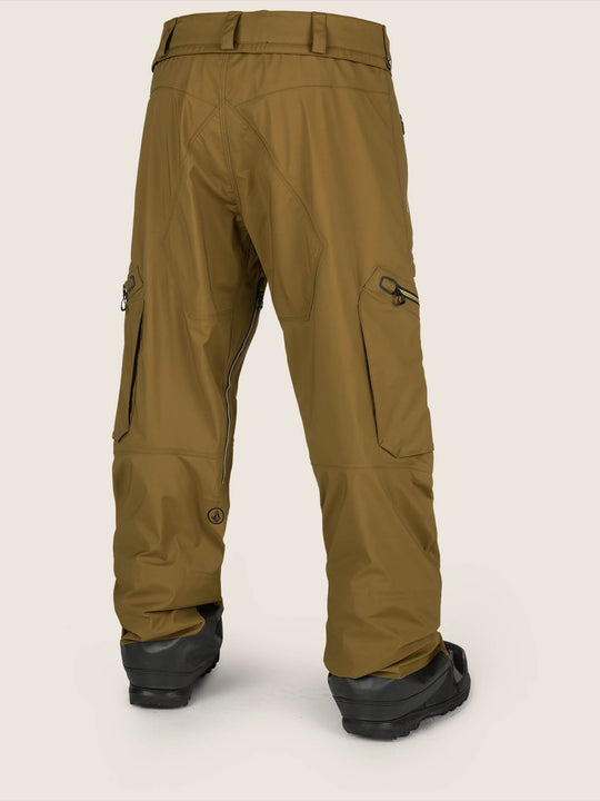 Guch Stretch Gore-tex Pant In Moss, Back View