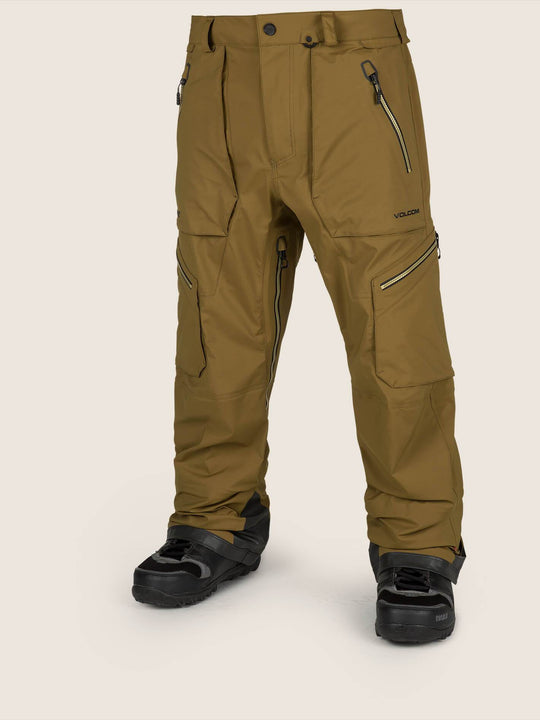 Guch Stretch Gore-tex Pant In Moss, Front View