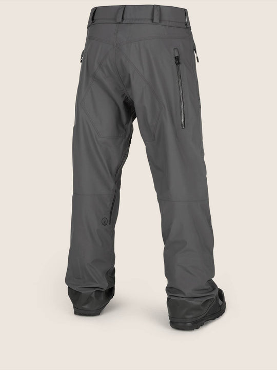 Guide Gore-tex Pant In Vintage Black, Back View
