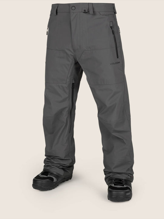 Guide Gore-tex Pant In Vintage Black, Front View