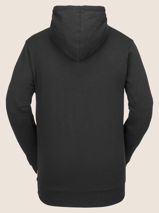 Jla Pullover Fleece In Black, Back View