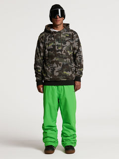JLA P/OVER FLEECE - ARMY (G4152103_ARM) [01]