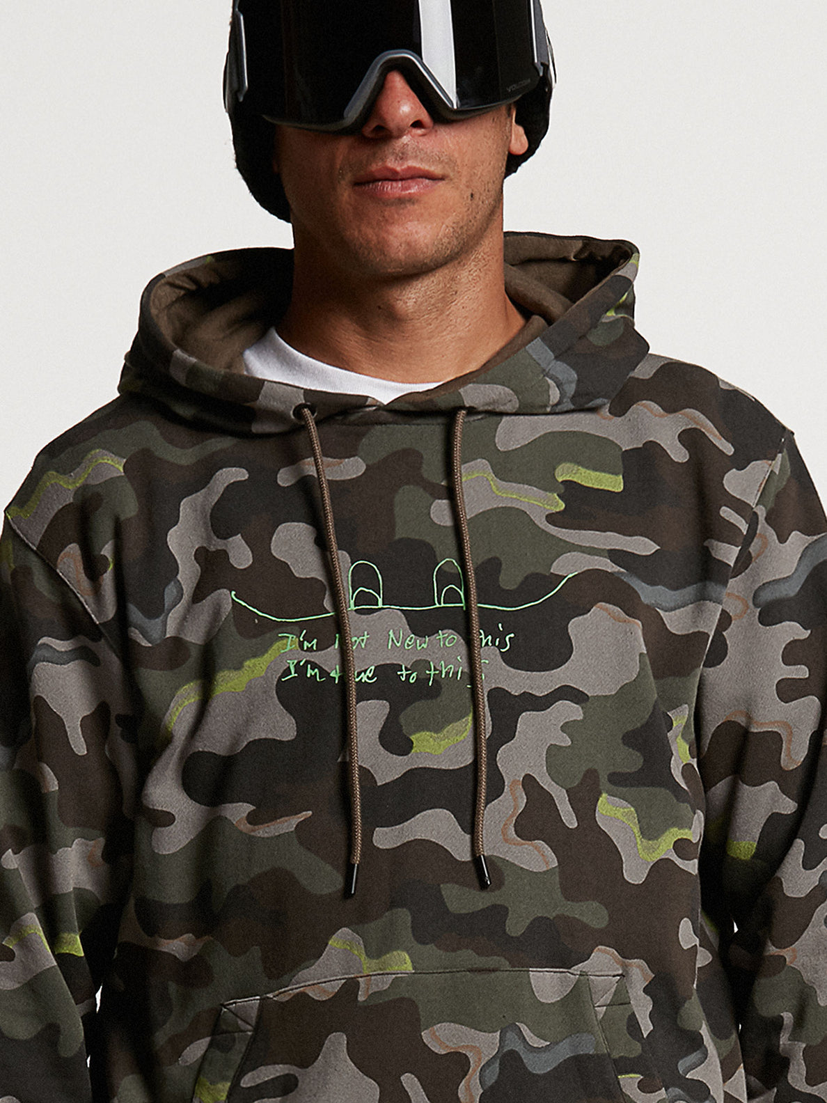 JLA P/OVER FLEECE - ARMY (G4152103_ARM) [04]