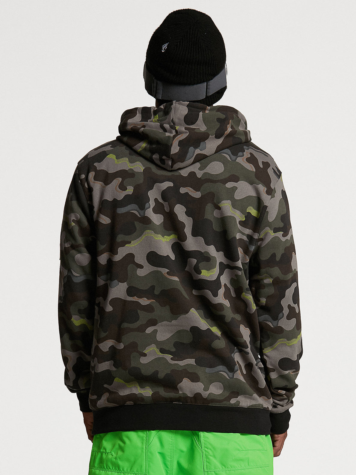 JLA P/OVER FLEECE - ARMY (G4152103_ARM) [05]
