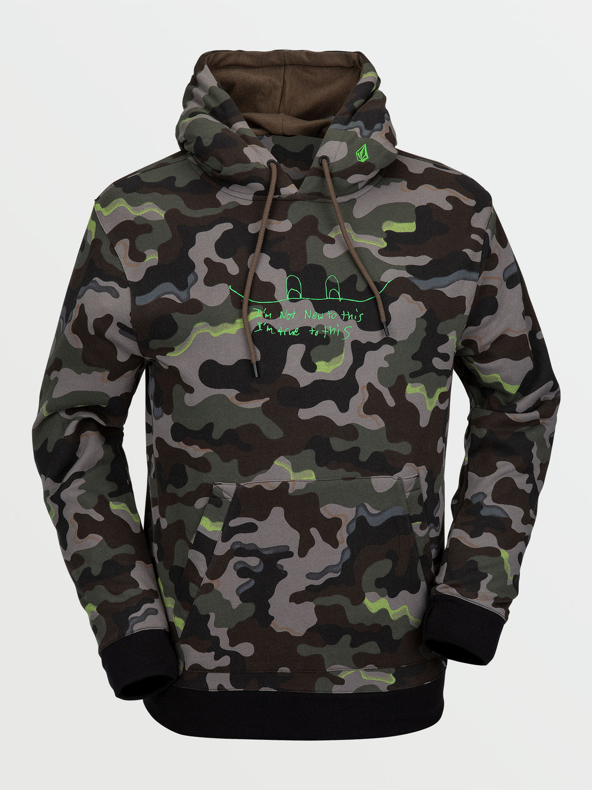 JLA P/OVER FLEECE - ARMY (G4152103_ARM) [F]