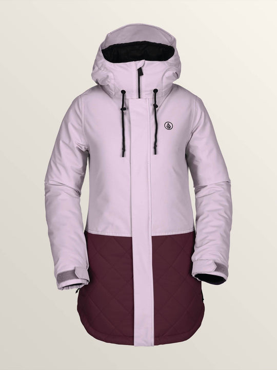 Winrose Insulated Jacket In Rose Wood, Front View