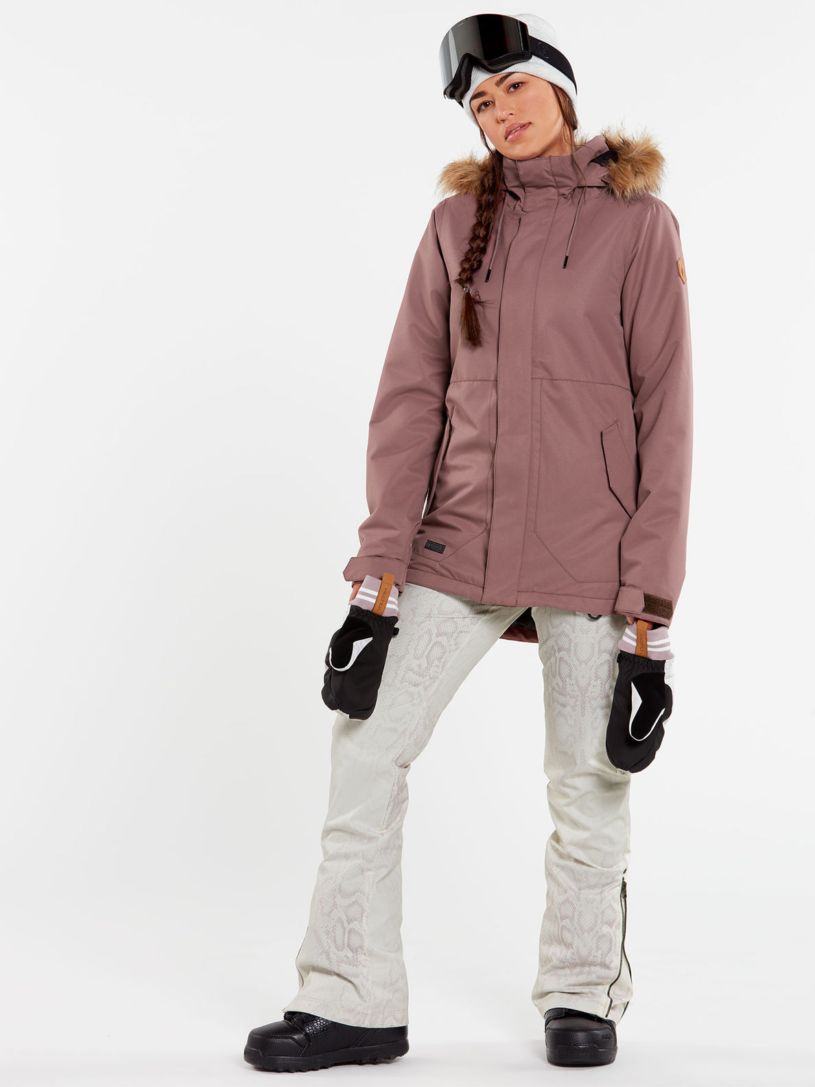 WOMENS FAWN INSULATED JACKET - BLACK (H0452011_BLK) [1]