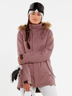 WOMENS FAWN INSULATED JACKET - BLACK (H0452011_BLK) [2]