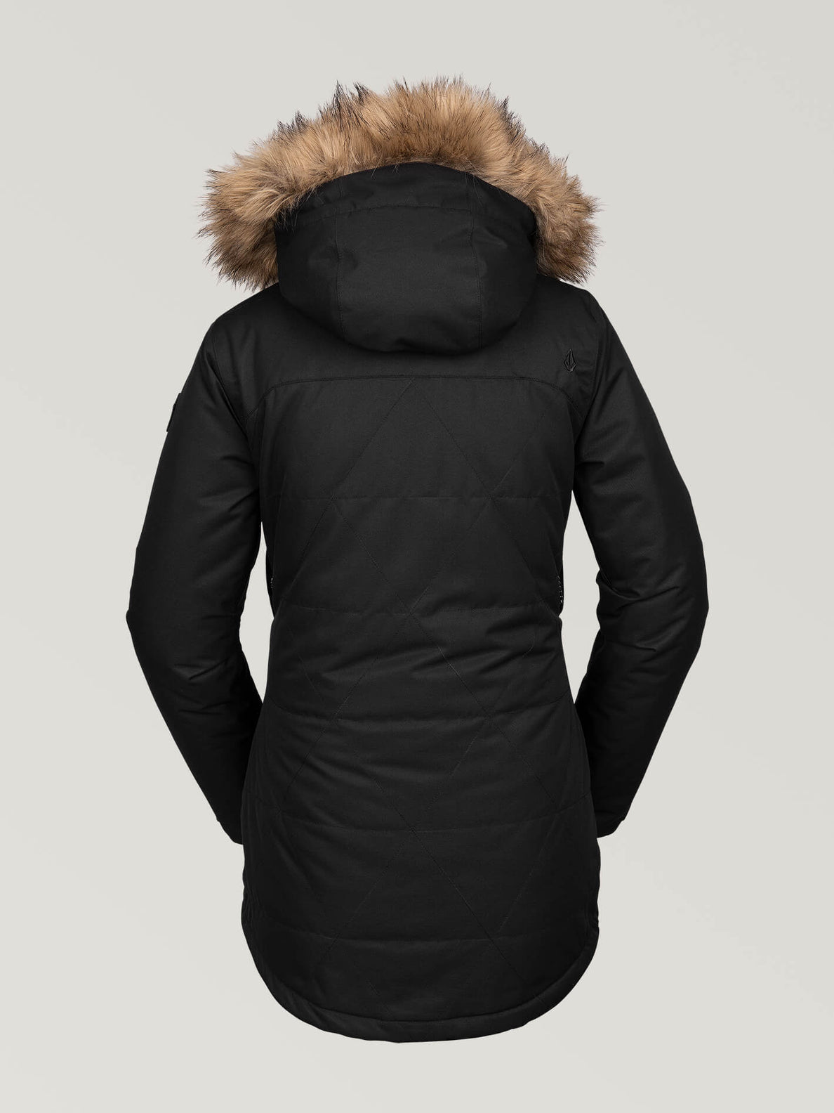 WOMENS FAWN INSULATED JACKET - BLACK (H0452011_BLK) [B]