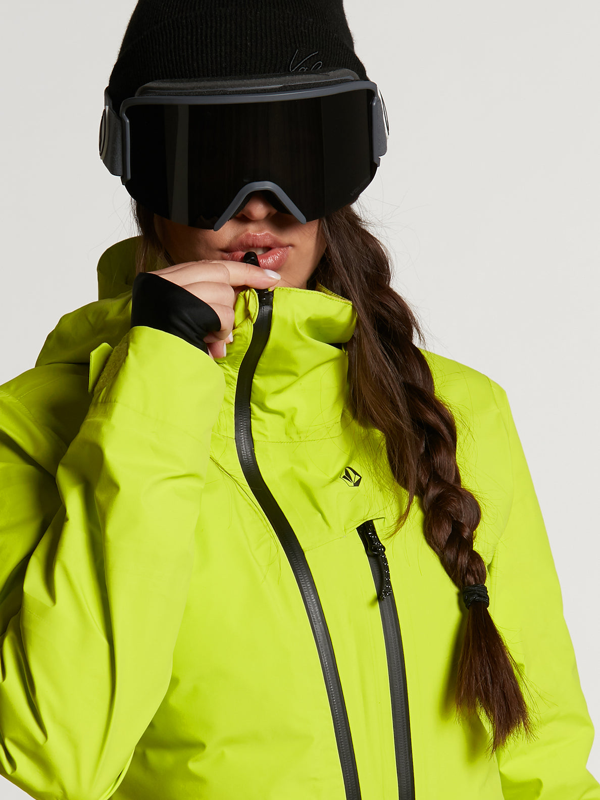 Womens Nya TDS Gore-Tex Jacket - Lime (H0452100_LIM) [3]