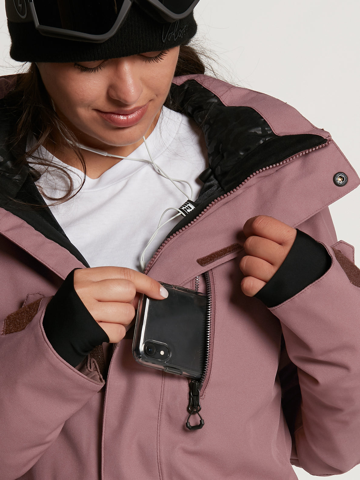 SHELTER 3D STRETCH JACKET - ROSE WOOD (H0452109_ROS) [33]