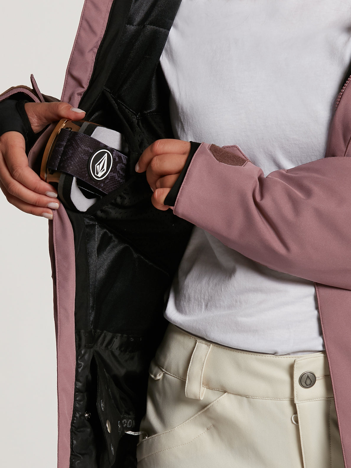 SHELTER 3D STRETCH JACKET - ROSE WOOD (H0452109_ROS) [34]