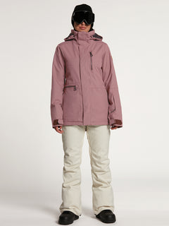 SHELTER 3D STRETCH JACKET - ROSE WOOD (H0452109_ROS) [F]