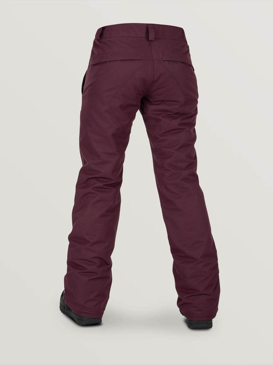 WOMENS FROCHICKIE INSULATED PANTS - MERLOT