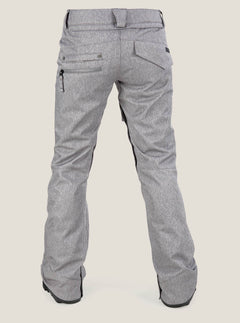 Species Stretch Pant In Heather Grey, Back View