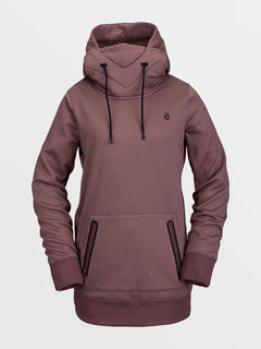 SPRING SHRED HOODY - ROSE WOOD (H4152103_ROS) [F]
