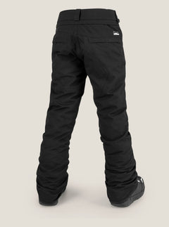 Youth Freakin Snow Chino In Black, Back View