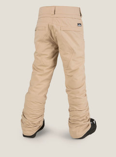 Youth Freakin Snow Chino In Khaki, Back View