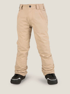 Youth Freakin Snow Chino In Khaki, Front View