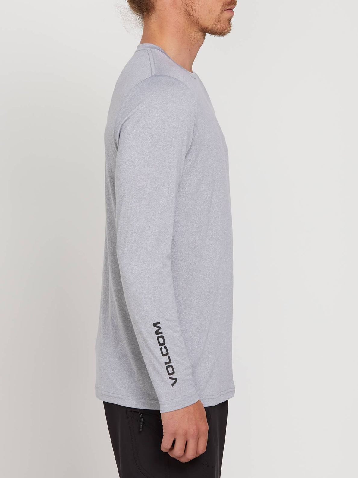 Lido Heather Long Sleeve Rashguard In Pewter, Alternate View