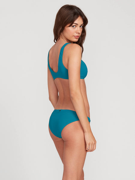Simply Mesh Hipster Bottom - Tidal Blue